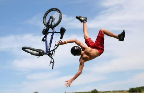 Bike Stunts gone Wrong