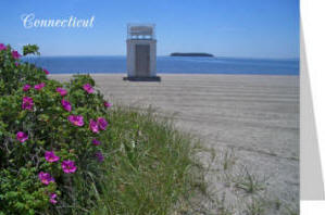 Connecticut Ocean Beach Card