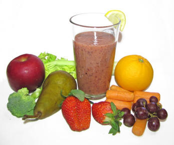 fruit veggie smoothie is zucchini a fruit