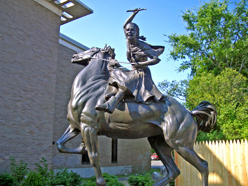 sybilludington2 - Women In History: You Know About Paul Revere, How About Sybil Ludington?
