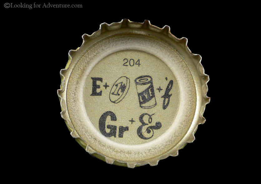 Haffenreffer Private Stock Beer Bottle Cap with Rebus Word Puzzle